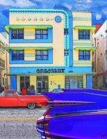 Crescent Hotel South Beach Miami with Cars