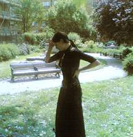 Goth Girl in the Park