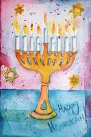Whimsical Menorah