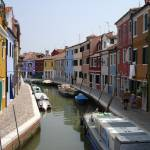 """Bright Houses in Burano"" by Marajo"
