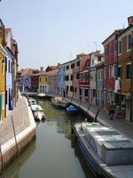 Bright Houses in Burano