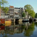 """Waterway in Amsterdam"" by Marajo"