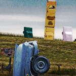 """Car Henge"" by lchik"