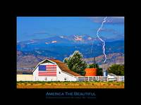 America The Beautiful - Poster