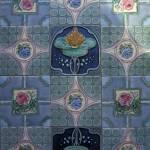 """""""Lotus & floral tiles"""" by sostroff"""
