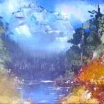 """""""Blue Mountain"""" by StudioArtsGroup"""