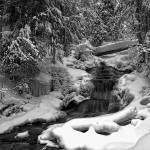 """Winter at Wagner Falls"" by mmcbride"