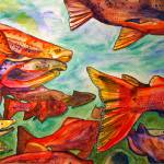 """""""Salmon"""" by ChrisCrowley"""