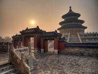 Surise over the Temple of Heaven