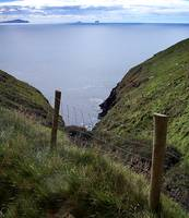 Dingle Peninsula Coast and Fence