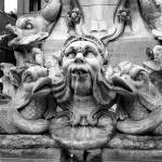 """Roman Fountain Faces"" by aswendener"
