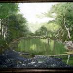 """Clifty Creek"" by JacksonArtStudio"