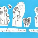 """""""A Flower, a Bird and a Butterly"""" by KarinLauria"""