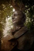 Statue of Washington Irving at Sunnyside