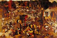 Flemish Fair by Pieter Brueghel the Younger