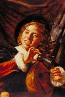 A Boy with a Lute by Franz Hals