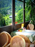 Austrian Cafe Window by Carol Groenen