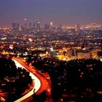 """LA (view from Mulholland Drive)"" by Ericsw"