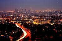 LA (view from Mulholland Drive)