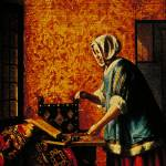 """Woman Weighing Gold by Pieter de Hooch"" by ArtLoversOnline"