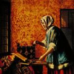 """""""Woman Weighing Gold by Pieter de Hooch"""" by ArtLoversOnline"""