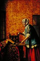 Woman Weighing Gold by Pieter de Hooch