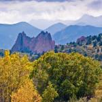 """Fall Color at the Garden of the Gods, Colorado Spr"" by naturesimages"
