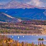 """Dillion Reservoir in Colorado-3"" by naturesimages"