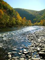 Lehigh River in Jim Thorpe