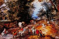 Road in the Woods by Jan Brueghel
