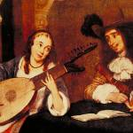 """The Lute by GerardTerborch"" by ArtLoversOnline"