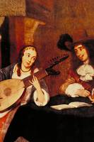 The Lute by GerardTerborch