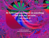 Believing Passionately
