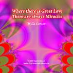 """""""Where there is Great Love"""" by empowerwithart"""