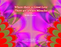 Where there is Great Love