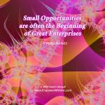"""""""Small Opportunities"""" by empowerwithart"""