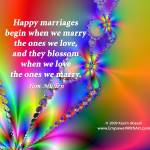 """""""Happy Marriages"""" by empowerwithart"""