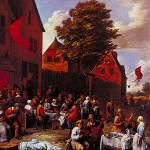 """Kermesse by G. van Tibborgh"" by ArtLoversOnline"