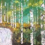 """""""Cutting Through the Birch"""" by art4joy"""