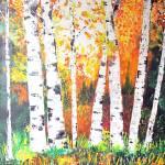 """Light Through Birch"" by art4joy"