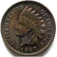 Indian Head Cent 1907