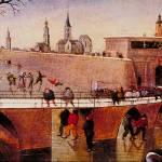 """Skating on the Walls Ditches by Abel Grimmer"" by ArtLoversOnline"