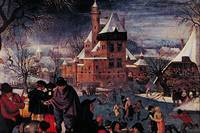 The Skaters by Pieter Brueghal