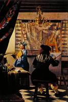 The Artist's Studio by Jan Vermeer