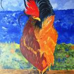 """""""Rooster with Attitude"""" by art4joy"""