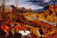 Autumn by Pieter Brueghel