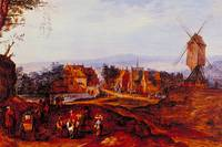 Landscape by Jan Brueghel