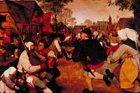 Peasant's Dance by Pieter Brueghel