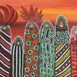 """Abstract Cactuses"" by Gabriela-Romaria"