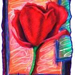 """""""Crimson Tulip"""" by wasankari"""